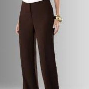 NWT Chicos 2X Magique Kadi MR pants brown